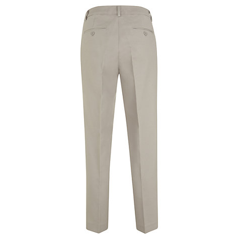 Buy Mint Velvet Stretch Capri Trousers, Mink Online at johnlewis.com