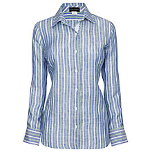 Buy James Lakeland Linen Shirt Online at johnlewis.com