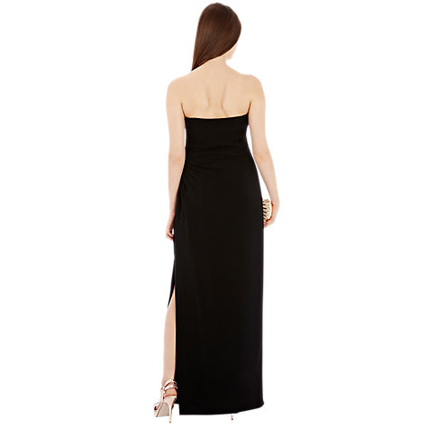 Buy Coast Stansie Maxi Dress, Black Online at johnlewis.com