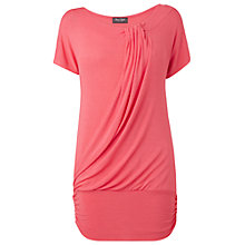 Buy Phase Eight Made in Italy Alice Knot Top, Coral Online at johnlewis.com