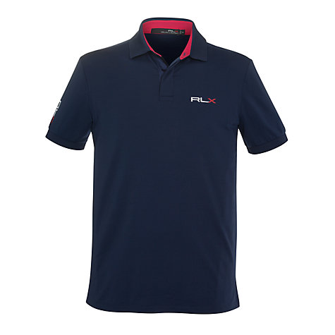 Buy Ralph Lauren RLX Golf Solid Tour Fit Polo Shirt Online at johnlewis.com