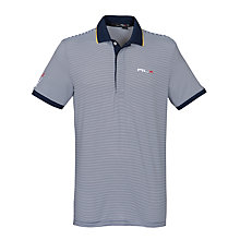 Buy Ralph Lauren RLX Golf Classic Fit Striped Airflow Polo Shirt Online at johnlewis.com