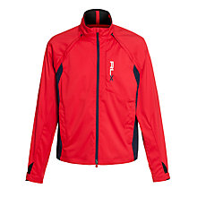 Buy Ralph Lauren RLX Golf Convertible Windbreaker Jacket, Red Online at johnlewis.com
