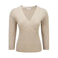 Buy CC Cable Wrap Jumper, Fawn Online at johnlewis.com