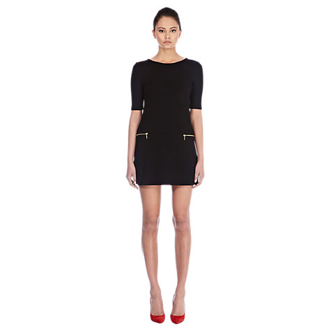 Buy Warehouse 60s Zip Dress Online at johnlewis.com