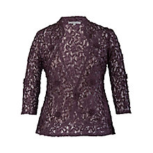 Buy Chesca Lace Cornelli Jacket, Haze Online at johnlewis.com