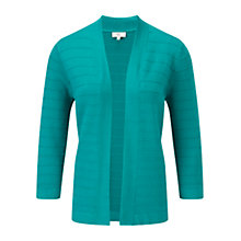 Buy CC Rib Edge to Edge Cardigan, Jade Online at johnlewis.com