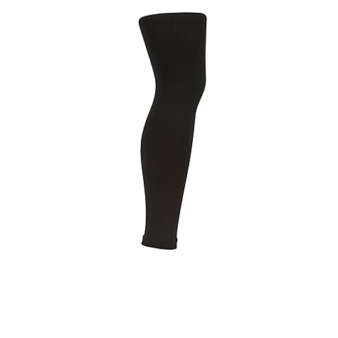 Buy John Lewis 150 Denier Polar Fleece Leggings, Black Online at johnlewis.com