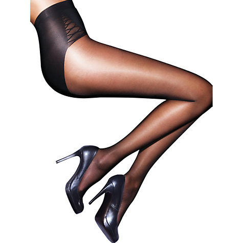 Buy Aristoc Bodytoners Tummy Tuck Tights, Black Online at johnlewis.com