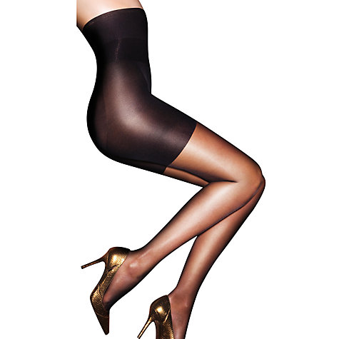 Buy Aristoc 10 Denier Hourglass Tights, Black Online at johnlewis.com