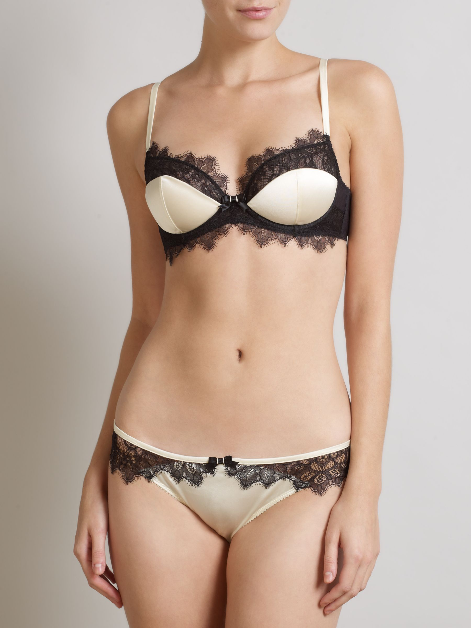 Somerset by Alice Temperley Vintage Lace  Set, Cream / Black