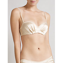 Buy Somerset by Alice Temperley Deco Bandeau Bra, Oyster Online at johnlewis.com
