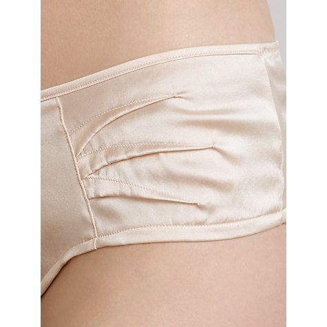 Buy Somerset by Alice Temperley Deco Shorts, Oyster Online at johnlewis.com