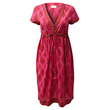 Buy East Beach Dress, Bright Pink Online at johnlewis.com