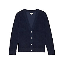 Buy Reiss Sammy Terry Towelling Cardigan Online at johnlewis.com