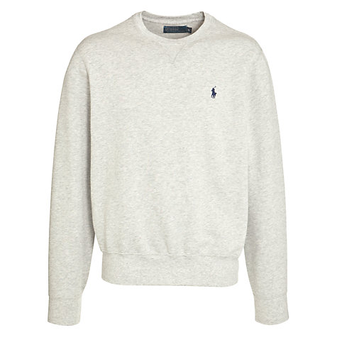 Buy Polo Ralph Lauren Crew Neck Long Sleeve Jumper Online at johnlewis.com
