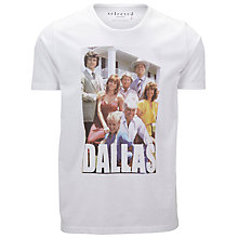 Buy Selected Homme Dallas Family Photo T-Shirt Online at johnlewis.com