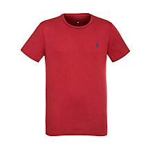 Buy Polo Ralph Lauren Crew Neck Short Sleeve T-Shirt Online at johnlewis.com