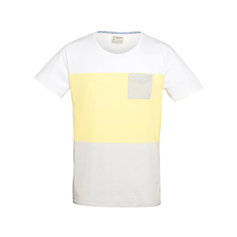 Buy Selected Homme Dade Stripe Short Sleeve T-Shirt Online at johnlewis.com