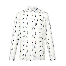 Buy Selected Homme Geroni Floral Long Sleeve Shirt Online at johnlewis.com