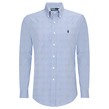 Buy Polo Ralph Lauren Stripe Custom Fit Shirt Online at johnlewis.com