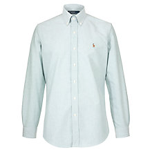 Buy Polo Ralph Lauren Custom Fit Long Sleeve Oxford Shirt Online at johnlewis.com