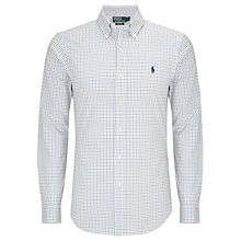 Buy Polo Ralph Lauren Mini Check Slim Fit Shirt Online at johnlewis.com
