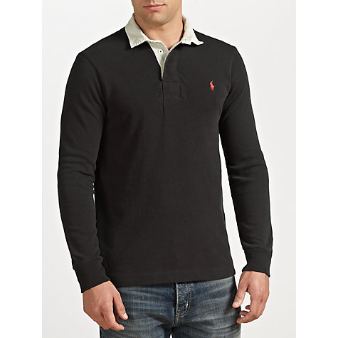 Buy Polo Ralph Lauren Slim Fit Rugby Shirt Online at johnlewis.com