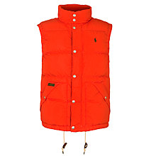 Buy Polo Ralph Lauren Elmwood Puffer Gilet Online at johnlewis.com