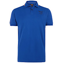 Buy Hackett London Aston Martin Racing Tipped Collar Polo Shirt Online at johnlewis.com