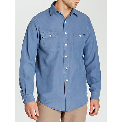 Buy Polo Ralph Lauren Custom Fit Western Style Denim Shirt, River Blue Online at johnlewis.com