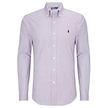 Buy Polo Ralph Lauren Custom Fit Check Shirt Online at johnlewis.com
