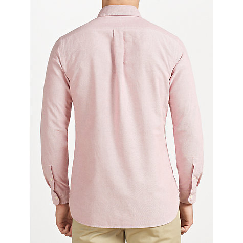 Buy Polo Ralph Lauren Custom Fit Oxford Long Sleeve Shirt, Cranberry Online at johnlewis.com