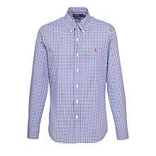 Buy Polo Ralph Lauren Gingham Slim Fit Shirt Online at johnlewis.com