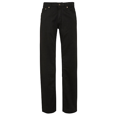Buy Polo Ralph Lauren Varick Slim Fit Jeans, Black Online at johnlewis.com