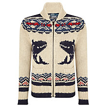 Buy Polo Ralph Lauren Nautical Cotton Linen Cardigan Online at johnlewis.com