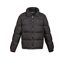 Buy Polo Ralph Lauren RL/250 Puffer Jacket, Black Online at johnlewis.com
