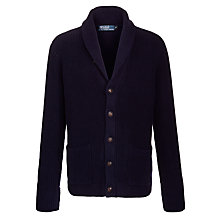 Buy Polo Ralph Lauren Shawl Neck Cardigan, Navy Online at johnlewis.com