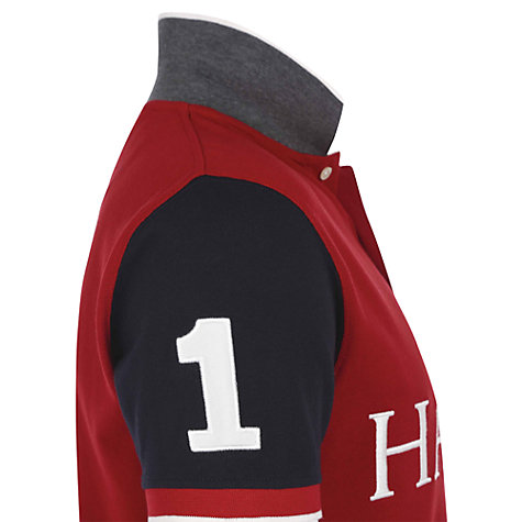 Buy Hackett London Classic Numbered Polo Shirt, Red Online at johnlewis.com