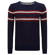 Buy Hilfiger Denim Gunner Crew Neck Jumper Online at johnlewis.com