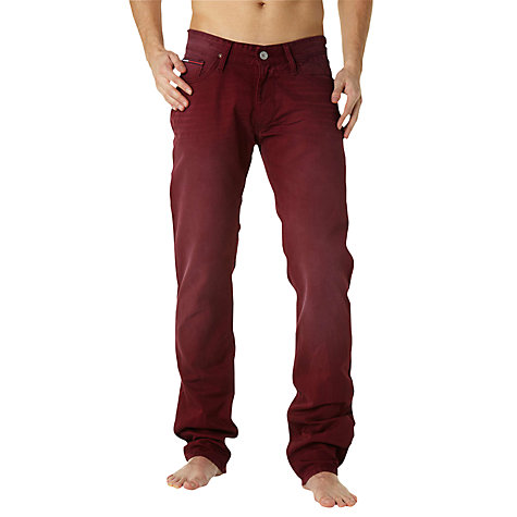 Buy Hilfiger Denim Ryan Regular Fit Jeans, Windsor Wine Online at johnlewis.com