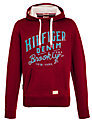 Buy Hilfiger Denim Hogan Hoodie, Red, S Online at johnlewis.com