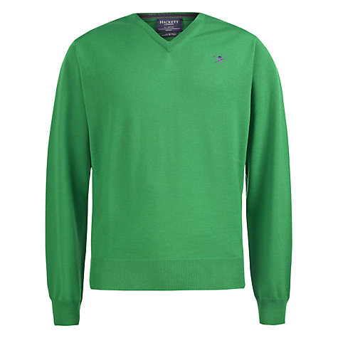 Buy Hackett London Mayfair Merino Jumper Online at johnlewis.com