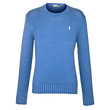 Buy Polo Ralph Lauren Long Sleeve Cotton Jumper Online at johnlewis.com