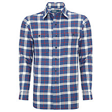 Buy Polo Ralph Lauren Check Long Sleeve Shirt, Blue/Red Online at johnlewis.com