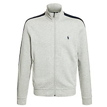 Buy Polo Ralph Lauren Full Zip Jersey Top Online at johnlewis.com