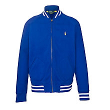 Buy Polo Ralph Lauren Boys' Baseball Jacket, Blue Online at johnlewis.com