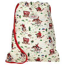 Buy Cath Kidston Cowboy Drawstring Bag, Cream Online at johnlewis.com