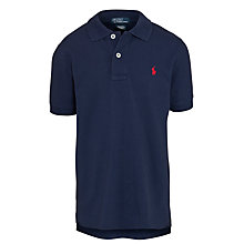 Buy Polo Ralph Lauren Boys' Custom Fit Polo Shirt Online at johnlewis.com