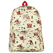 Buy Cath Kidston Cowboy Rucksack, Cream Online at johnlewis.com